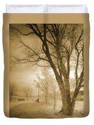 December Glow Duvet Cover