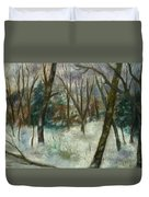 December On Cooper Hill Duvet Cover