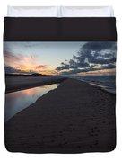 December Sunsets Duvet Cover