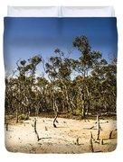 Deception Bay Conservation Park Duvet Cover