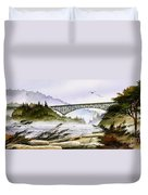 Deception Pass Bridge Duvet Cover