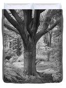 Deciduous Tree Ir Duvet Cover