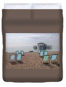 Deck Chairs Duvet Cover