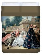 Declaration Of Love Duvet Cover