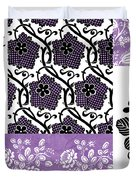 Deco Flower Patchwork 3 Duvet Cover by JQ Licensing