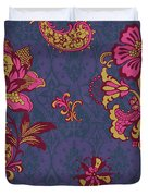 Deco Flower Purple Duvet Cover