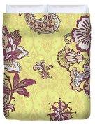 Deco Flower Yellow Duvet Cover