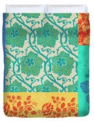 Deco Flowers Duvet Cover