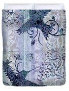 Deco Hummingbird Blue Duvet Cover