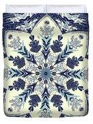 Deconstructed Sea Mandala Duvet Cover