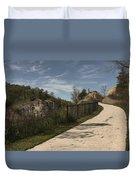 Decorah Bike Trail Duvet Cover