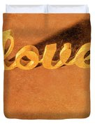 Decorating Love Duvet Cover