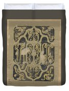 Decorative Design, Carel Adolph Lion Cachet, 1874 - 1945 Vq Duvet Cover
