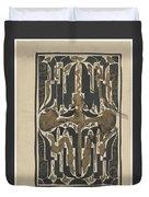 Decorative Design, Carel Adolph Lion Cachet, 1874 - 1945 Y Duvet Cover