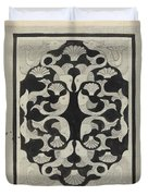 Decorative Design With Fish, Carel Adolph Lion Cachet, 1942 Duvet Cover
