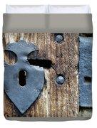 Decorative Door Fittings Duvet Cover