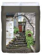 Decorative Stairway Duvet Cover