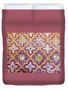 Decorative Tiles Islamic Motif  Duvet Cover