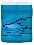 Deep Blue Duvet Cover by Ben and Raisa Gertsberg