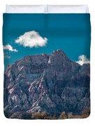 Deep Blue Sky Canyon Duvet Cover