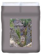 Deep Creek Gorge Duvet Cover