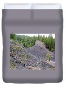 Deep Creek Rocks Duvet Cover
