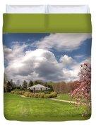 Deep Cut Gardens In Spring  Duvet Cover