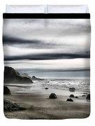 Deep Evening At The Beach Duvet Cover