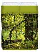 Deep Forest Scenic Duvet Cover