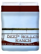 Deep Hollow Ranch Duvet Cover