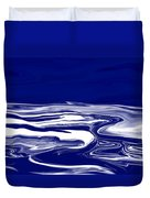 Deep In Blue Duvet Cover