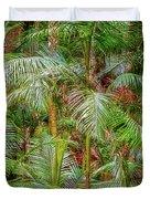 Deep In The Forest, Tamborine Mountain Duvet Cover