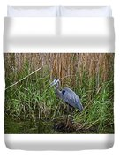 Deep In The Swamps Duvet Cover