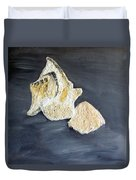 Deep Ocean Seashells Duvet Cover