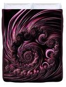 Deep Purple Duvet Cover
