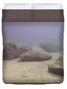 Deep Rocks Duvet Cover