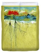 Deep Roots Duvet Cover