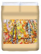 Art And Theater Duvet Cover