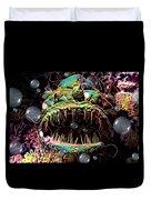 Deep Sea Monster Fish Duvet Cover