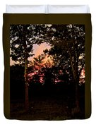 Deep Song, Like A Nightingale In Mourning Duvet Cover