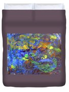 Deep Space Abstract Art Duvet Cover