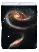 Deep Space Galaxy Duvet Cover