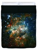 Deep Space Star Cluster Duvet Cover