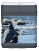 Deep Thoughts Duvet Cover