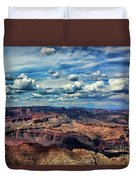 Deep Tones Grand Canyon  Duvet Cover