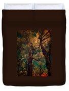 Deep Trees Duvet Cover