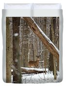 Deep Woods Deer Duvet Cover