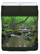Deep Woods Stream 2 Duvet Cover