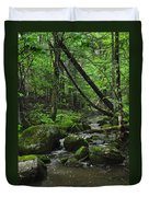 Deep Woods Stream 3 Duvet Cover