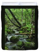 Deep Woods Stream Duvet Cover